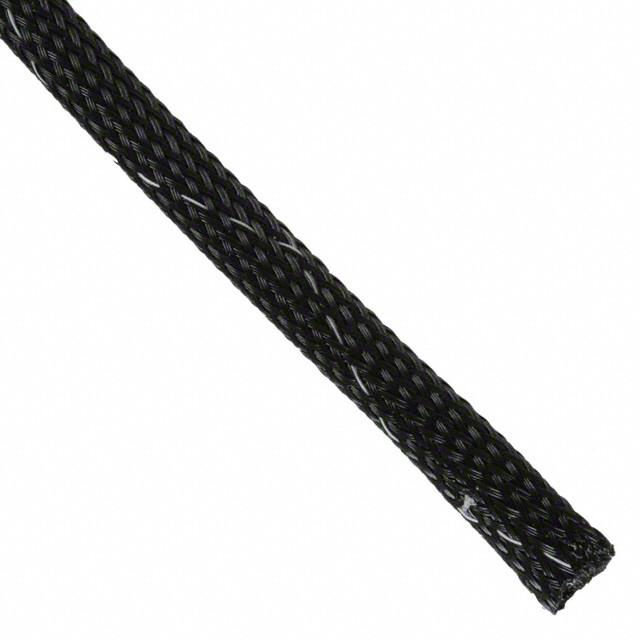 """Expandable Braided Loom 1//4/""""x100/' Black Wire Sleeving Flex Tubing 1//4/"""" X 100/'"""